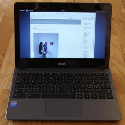 Debian på Chromebook