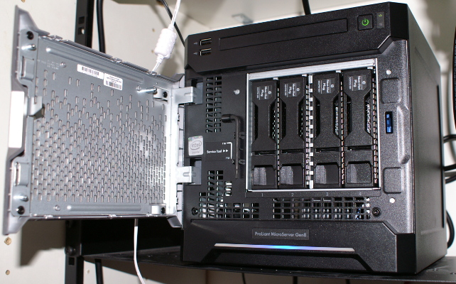 HP ProLiant Micro Server Gen 8