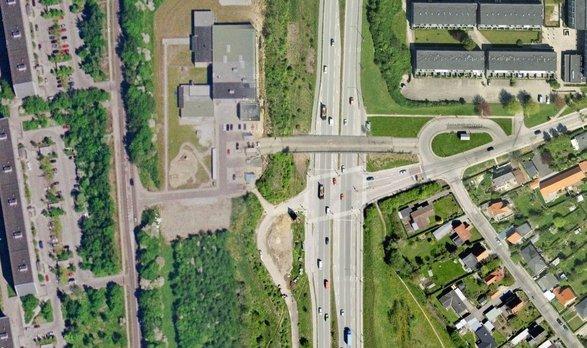 fotomanipulation af bro over Ringvejen